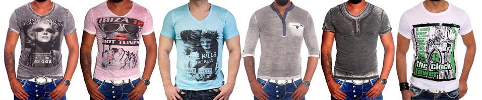 T-shirt fashion homme